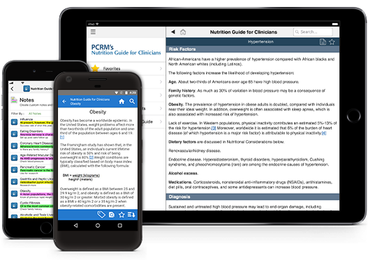 Nutrition Guide for Clinicians iOS iPhone iPad Android